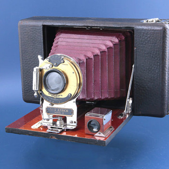 Ansco folding camera no.4 (?), 1907 (?) - Cameras