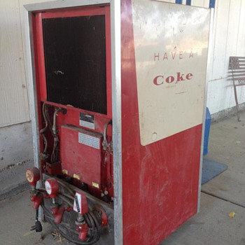 unknown machine - Coca-Cola