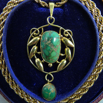 Early Archibald Knox Pendant for Liberty & Co - Arts and Crafts