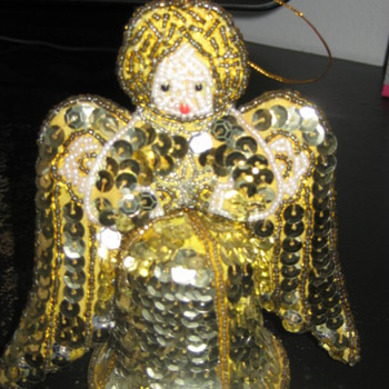 Vintage handmade Christmas Angel - Christmas