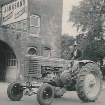 odd John Deere photo - Photographs