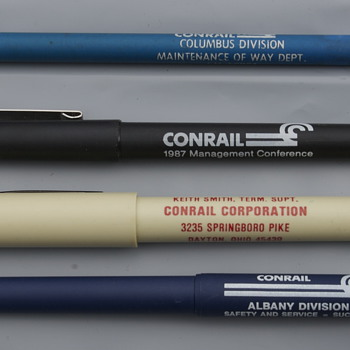 Four Conrail Items......