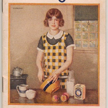 1930 - Arm &amp; Hammer Baking Soda Recipe Booklet - Books