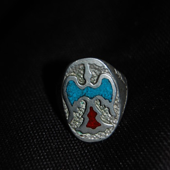 Native American Peyote Ring 