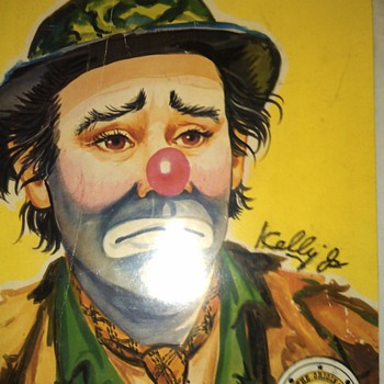 Emmett Kelly JR autographs? - Paper