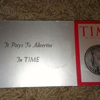 Time Magazine Sales Promotion - Paper