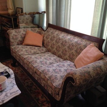Our Antique Sofa