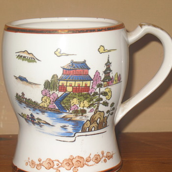 Hand Painted Cup - Art Pottery