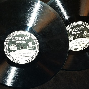 Edison heavy thick records