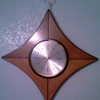 Mid Century Elgin Wall Clock