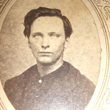 14th Army Corps Civil War soldier CDV