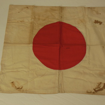 "Part 1 of my Japanese Hinomaru Yosegaki ""good luck flag"" collection"