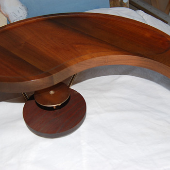Teak Serving Tray, but Something is Missing?
