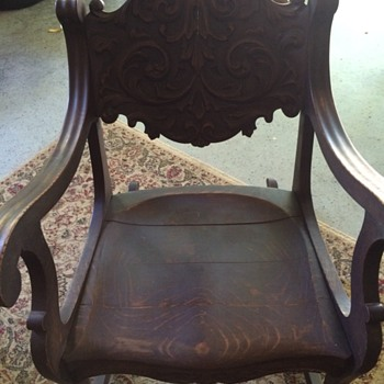 Early 1900's Rocking Chair