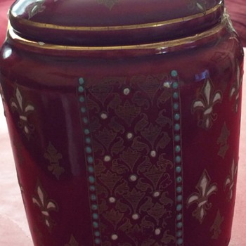 Found this  lidded pot  - Art Pottery