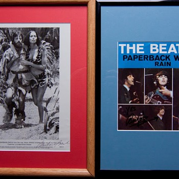 Ringo autographs-1981 & 1997 - Music