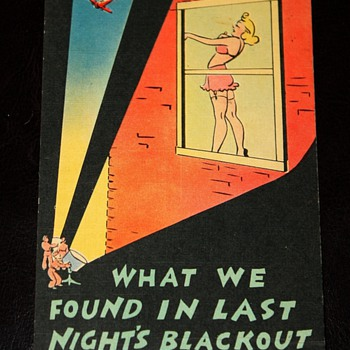 Saucy WWII Postcards - Postcards