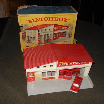 Matchbox Fire Station Mid 1960s