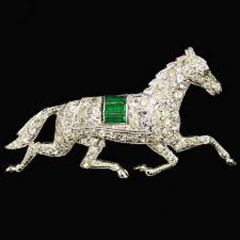 Alfred Philippe Running Horse Brooch Pin Prototype? - Costume Jewelry