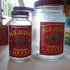 VINTAGE 1 LB AND 3LB COFFEE JARS