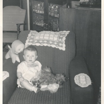 My first birthday in this world'1960""