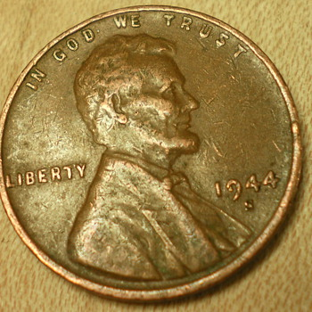 1944 S Penny - US Coins