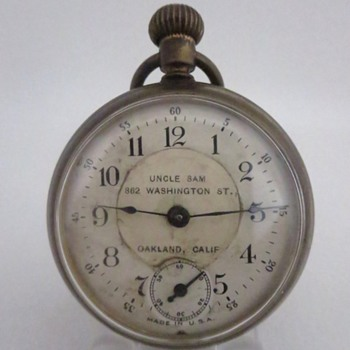 """Owners """"Self Personalized or Advertising"""" Dial - Pocket Watches"""