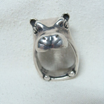 James Yesberger Hippo Ring - Fine Jewelry