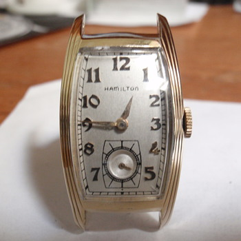 1938 Hamilton Linwood 14K gold filled - Wristwatches