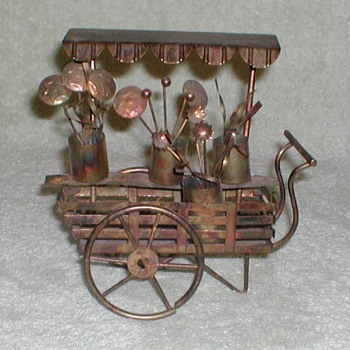 Brass Art - Flower Cart