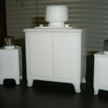 General Electric Salt, Pepper Shakers and Sugar Container
