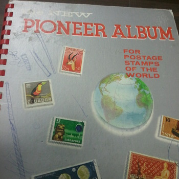 Pioneer Album (postage Stamp) book