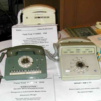 Western Electric Field Trial Sets Display - Enfield show Fall 2005