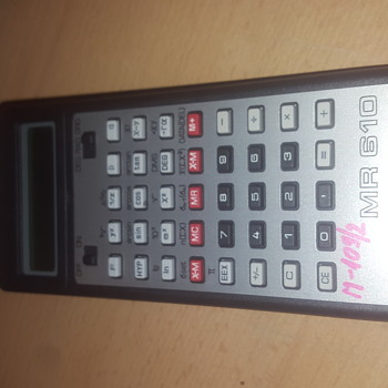 Old Tesla MR610 calculator - Electronics