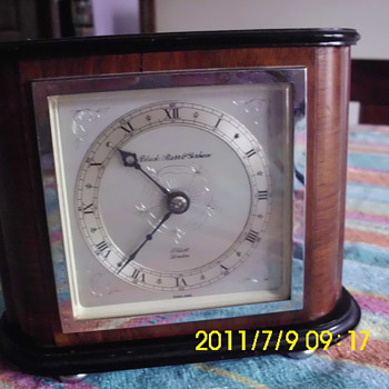 Black,Starr&Gorham Clock