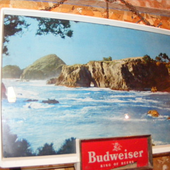 Vintage Budweiser Light - Breweriana