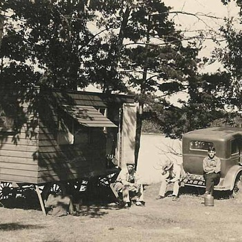 Early camp site - Photographs