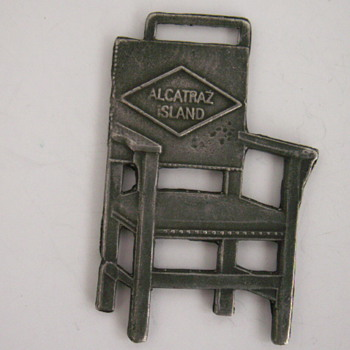 Electric Chair, Alcatraz Island Watch Fob