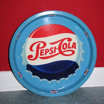 pepsi cola tray - Advertising