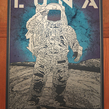 Luna poster by Chuck Sperry