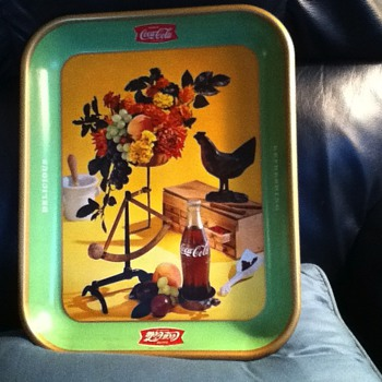 vintage coke trays - Coca-Cola
