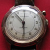 First Generation postwar Movado One-Button Chronograph. The very rarest of the rare 