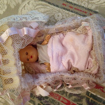 "Not sure but is this ""baby bunting""? - Dolls"