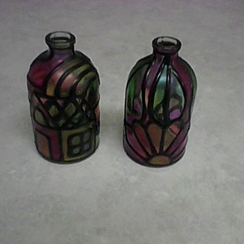 ENAMEL DESIGN BOTTLES