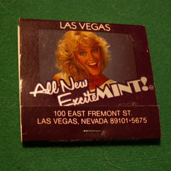 Vintage Del Webb's MINT Casino Matches ~ Las Vegas, Nevada