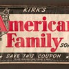 1930's/40's - American Family Soap