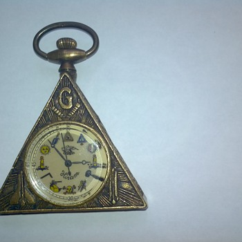 1800s Hiram mason pocket watch - Pocket Watches