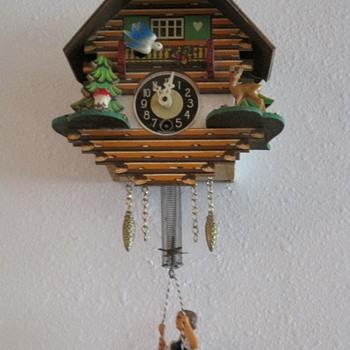 Thrifted Cuckoo Clock - Clocks