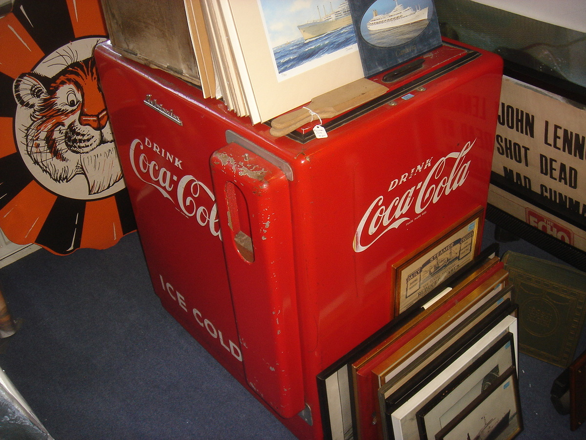 Fully Restored 1950's COKE Coca Cola Westinghouse Cooler ...  Old Coca Cola Coolers
