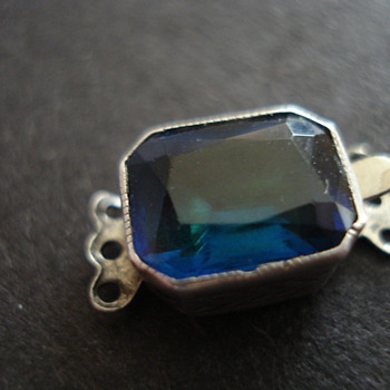 JEWERLY STERLING BLUE STONE